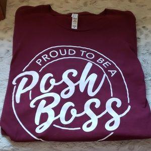 Plus Size Posh Boss Tee